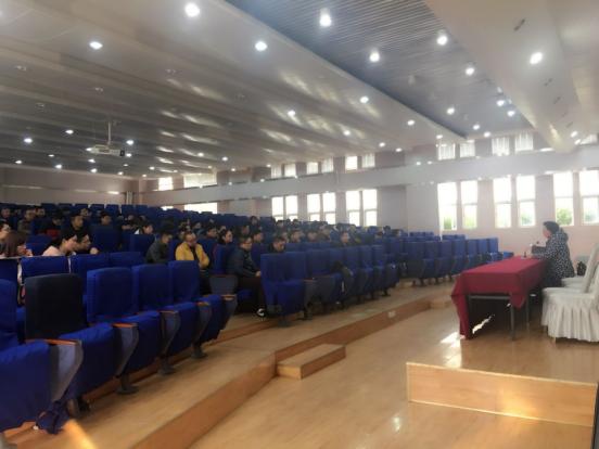 南充技师学院多扶校区教务处组织学习实训教授教养治理轨制