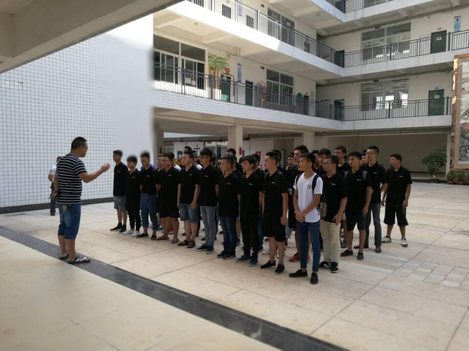 """南充技师学院""""吉利远程班""""50名学生到吉利公司顶岗实习"""